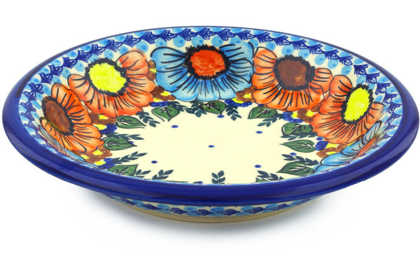 Polish Pottery Pasta Bowl 9