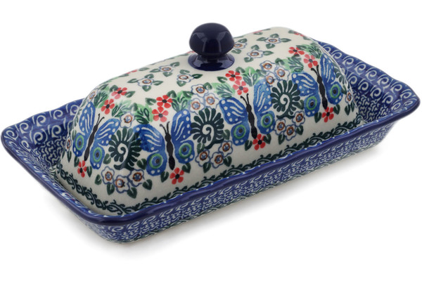 Polish Pottery Butter Dish 9