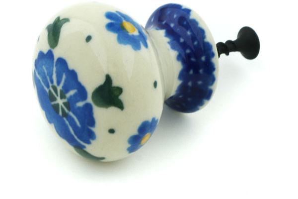 Polish Pottery Drawer Pull Knob 1