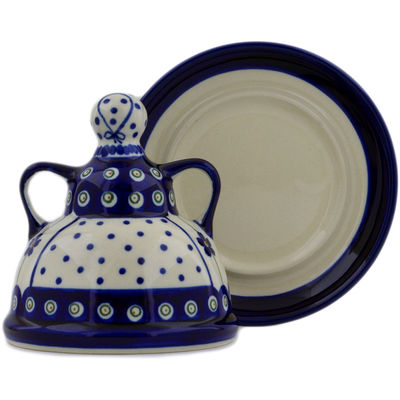 Polish Pottery Mini Cheese Lady 6
