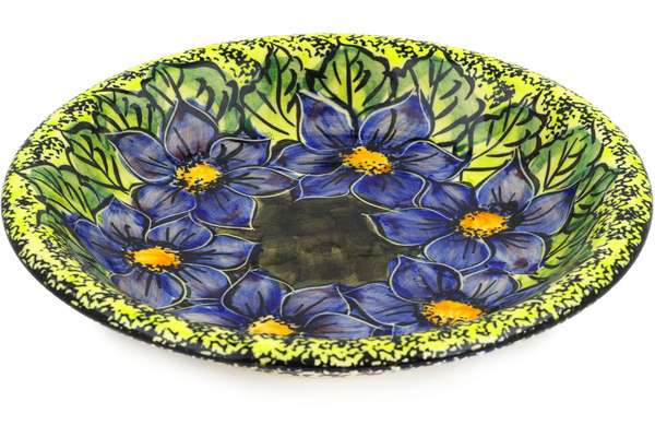 Polish Pottery Pasta/Soup Bowl 9