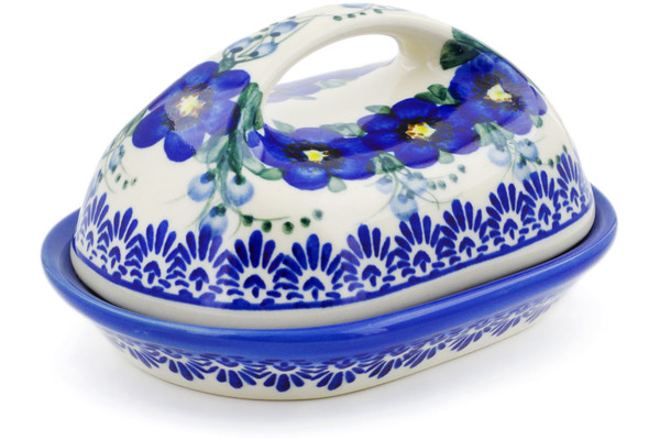 Polish Pottery Butter Dish 7