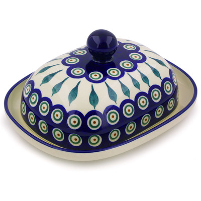 Polish Pottery Butter Dish 8