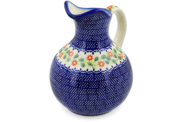 Polish Pottery Pitcher 5 cup by Ceramica Bona