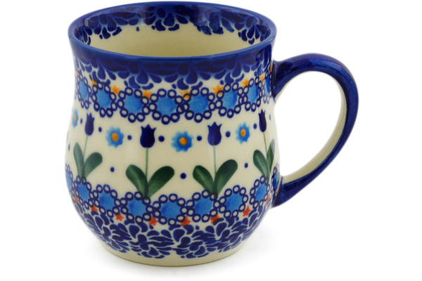 Polish Pottery Mug 13 oz by Ceramika Bona