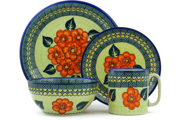 Polish Pottery Place Setting 10