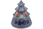 Polish Pottery Christmas Tree 8