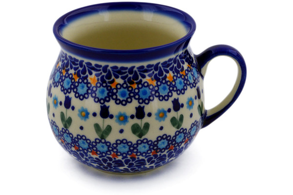 Polish Pottery Bubble Mug 22 oz  by Ceramika Bona