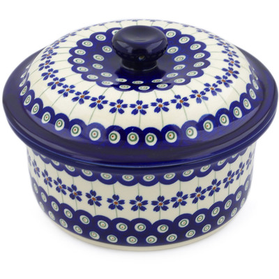 Polish Pottery Dish with Cover 8