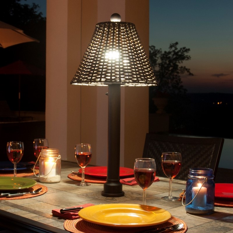 Umbrella Table Lamps