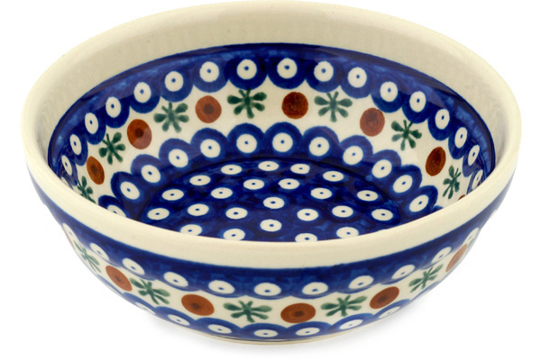 Polish Pottery Cereal / Soup Bowl 7