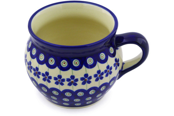 Polish Pottery Bubble Mug 16 oz by Zaklady Ceramiczne