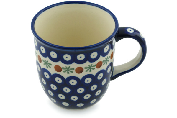 Polish Pottery Tea / Coffee Mug 12 oz by Zaklady Ceramiczne