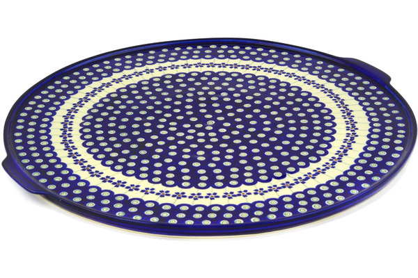 Polish Pottery Pizza Plate 17