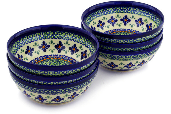 Polish Pottery Cereal / Soup Bowls 7