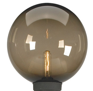 Bronze Globe Replacement for Patio Lamps  - 12