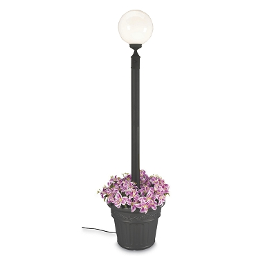 European - Portable Electric Globe Planter Lamp