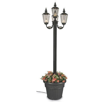 Cambridge - Electric Park Lantern Planter Lamp