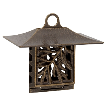 Pinecone Suet Feeder