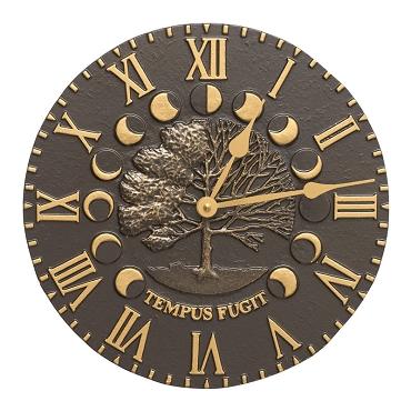 Times and Seasons Indoor/Outdoor Wall Clock