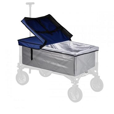 Adventure Portable Wagon Upgrade Kit, (Navy Blue)