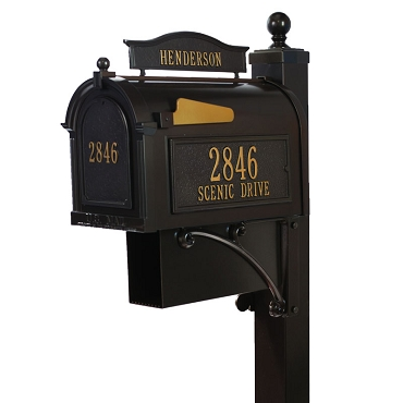 Capitol - Ultimate Mailbox Package - Bronze