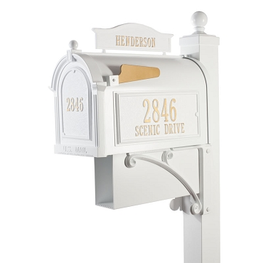 Capitol - Ultimate Mailbox Package - White