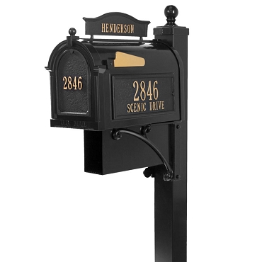 Capitol - Ultimate Mailbox Package - Black