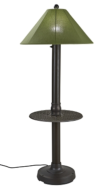 Catalina - Portable Weatherproof Floor Lamp with Table