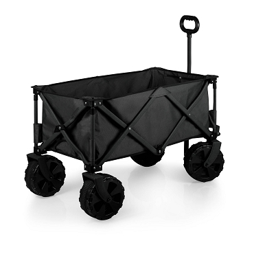Adventure Wagon All-Terrain Portable Utility Wagon, (Dark Gray)
