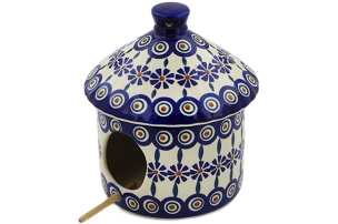 Polish Pottery Birdhouse 7