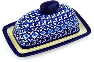 Polish Pottery Single Butter Dish 7