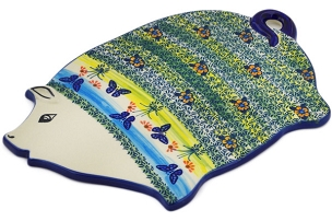 Polish Pottery Cutting Board 10
