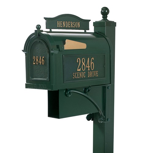 Capitol - Ultimate Mailbox Package - Green