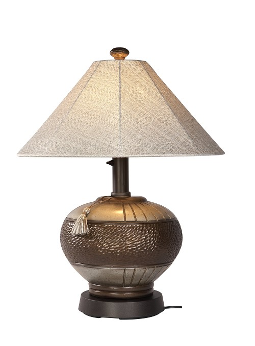 Phoenix - Portable Weatherproof Bronze Table Lamp