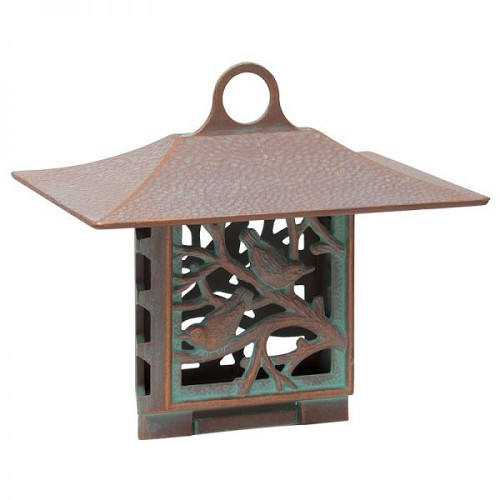 Nuthatch Suet Feeder - Copper Verdigris