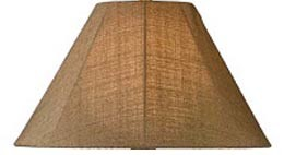 Outdoor Sunbrella Fabric Lamp Shade Cover Replacement for Catalina Lamps - Medium 20""