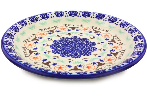 "Polish Pottery Dinner Plate 10"" by Ceramika Bona"