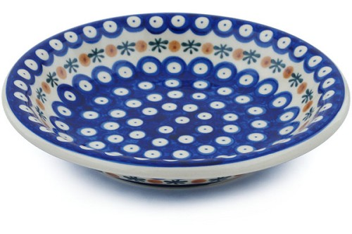"Polish Pottery Pasta Bowl 9"" by Ceramika Bona"