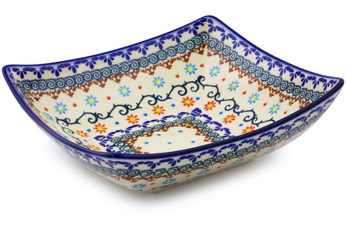 "Polish Pottery Bowl 9"" by Ceramica Bona"