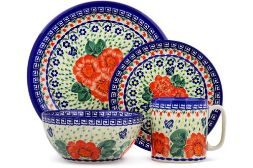 "Polish Pottery Bowl 6"" by Ceramica Bona"
