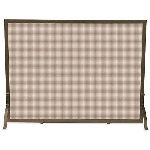 SINGLE PANEL BRONZE SCREEN