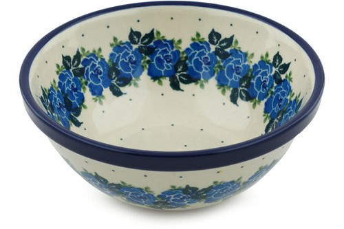 Polish Pottery Cereal / Soup Bowl