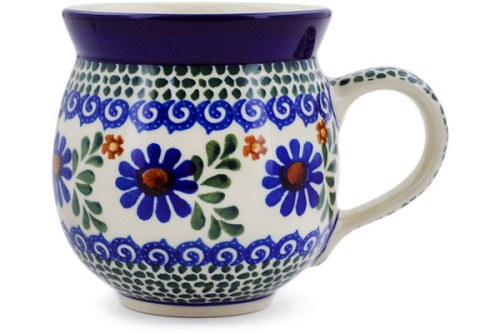 Polish Pottery Bubble Mug