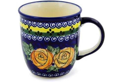 Polish Pottery Tea / Coffee Mug 12oz Zaklady Ceramiczne